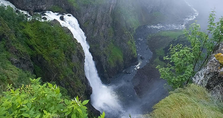 Cruise & Maritime: Norwegian Fjords - Voringsfoss waterfall tour